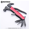 Hot-sale Funcitonal Outdoor Camping Claw hammer with LED light