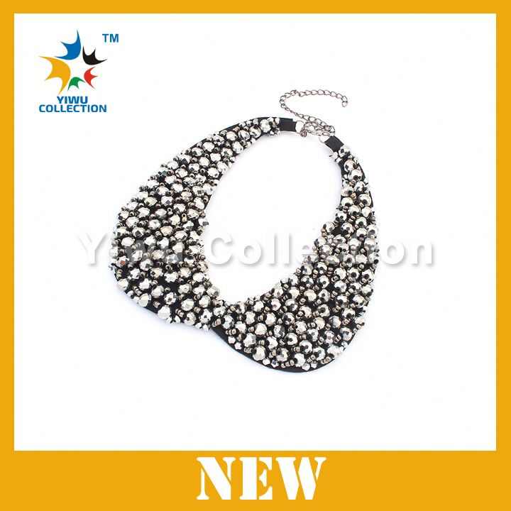 Free Shipping jewelry factory cheap Apparel Accessory Lady beaded necklace