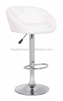 modern bar stool with armrest/ 360 degree and height adjustable/ all color