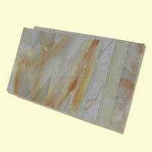 UV High Glossy PVC Imitation Marble Sheet For Interior Decoration