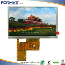5 inch tft lcd module & resistive & capacitive touch panel