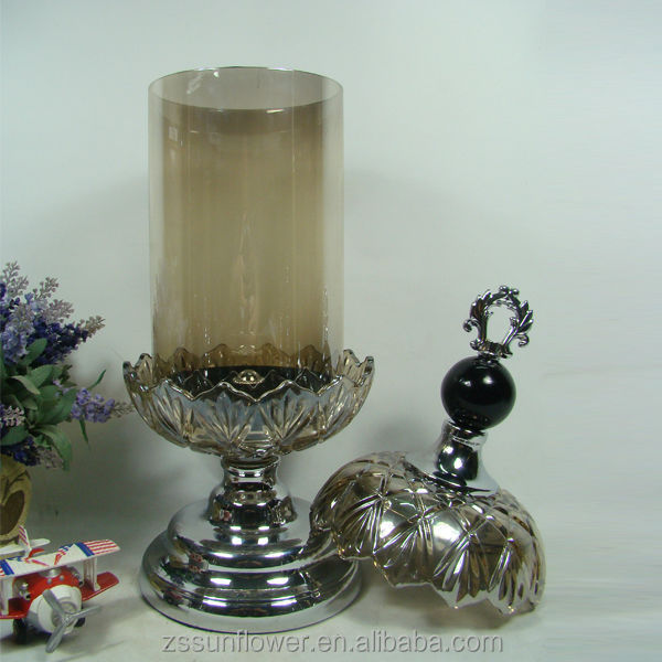 hoch silber metall kerzenhalter nachttisch lampen eisen stehen metall kerzenhalter metall votiv. Black Bedroom Furniture Sets. Home Design Ideas