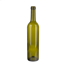 Dark Green 750ml Glass Bottle Of Red Wine Wholesale