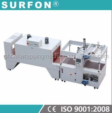 With Servo Control High Speed Sleeve Sealer Shrink Wrap Machine For Food Boxes