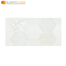 Fire Resistant white ceramic wall tile bathroom specification standard