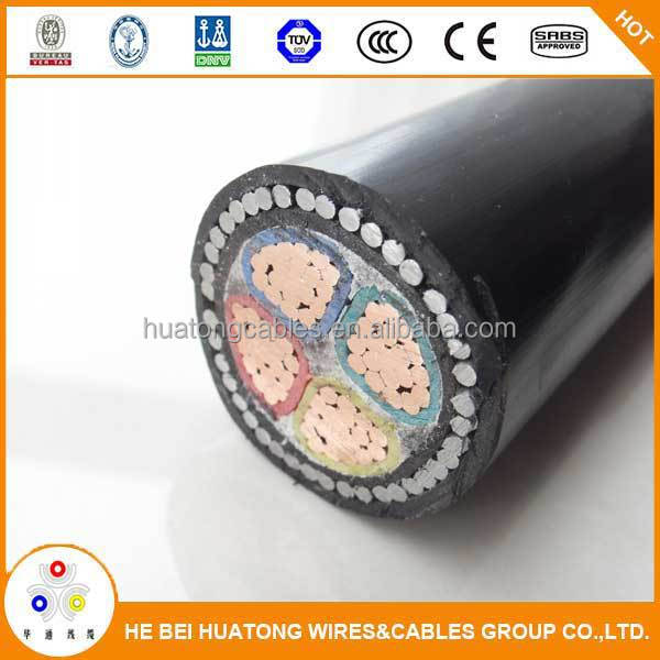 China low voltage armoured copper pvc cable