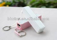 New Product BHN777 Mobile Phone accessory Portable Battery power bank charger 2600 ma for