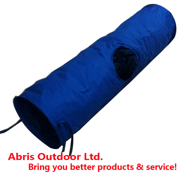 Portable 210D oxford Pet Play Tunnel for Cats or Dogs