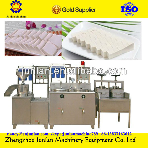 best seller automatic electric gas industrial soy milk production bean curd making machine soya milk processing machine