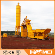 weigh batching concrete mixer for road construction