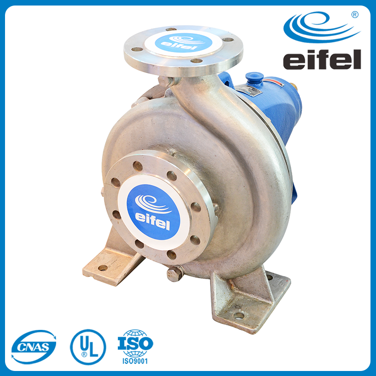 stainless steel end suction food grade water pumps
