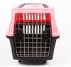 Comfortable foldable plastic airline dog carrier