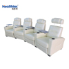 2017 leather cinema reliner sofa set 3 seats a line C-T16