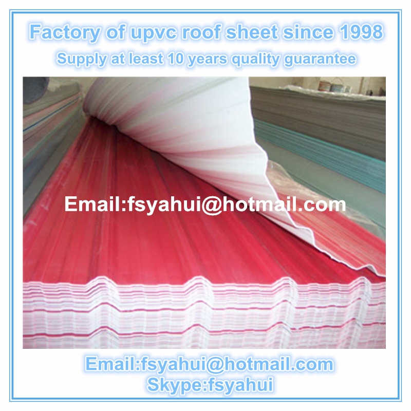 2017 HOT SALE ASA PVC Roof /ASA upvc roof tile price/ASA ROOF SHEET