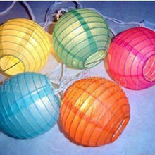 Wholesale Chinese paper lantern led light for paper lantern