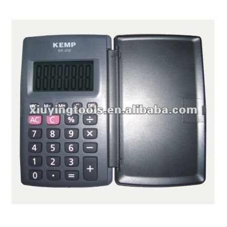 Foldable Pocket Calculator