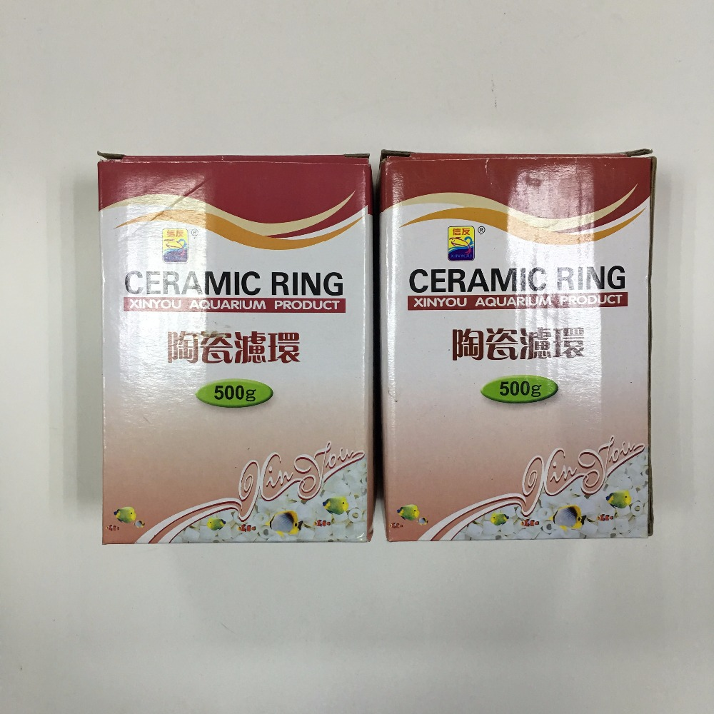 XINYOU ceramic rings 17#,aquarium filter, filter rings 500g per box