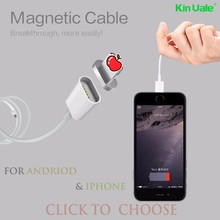 Wholesale Magnet wire phone usb data cable mobile magnetic usb cable charger for iphone 7