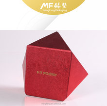 Creative and Cute Red Specialty Paper Jewelry gift Box