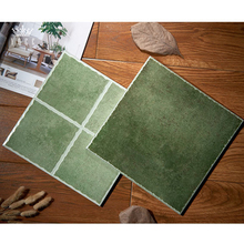 YOCR-96 Green rustic matt finish ceramic wall tiles for kitchen or bathroom