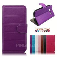 for Lenovo A328 case, leather folio cover case for Lenovo A328