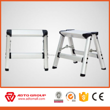 CE certified aluminum step stool,portable step stool,adjustable step stool