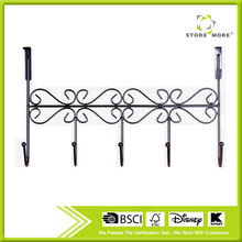 The Door 5 Hook Rack Decorative Hanger for Hanging Clothes Coat Hat