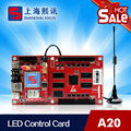 led control card work for outdoor full color led display supports 3G wireless/GPRS/WIFI communication type