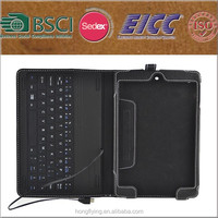 wholesale top 1 selling high quality leather case for ipad with keyboard