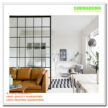 New design aluminium composite wood side hinged window
