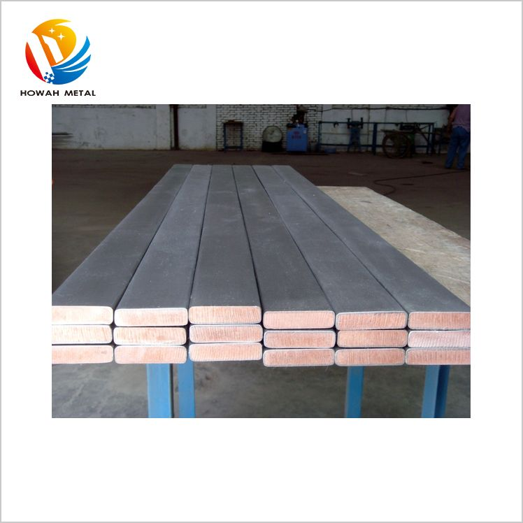 Competitive china supplier gr2 titanium clad copper plate
