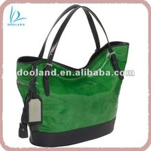 Lady fashion synthetic leather handbag 2012