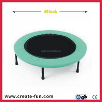 CreateFun hot sale 48 inch mini round bounce bed/trampoline for children