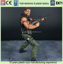 8inch custom articulated plastic action figure, lifelike human plastic action figure, movable action figures