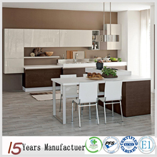 China Wood Venner Modular Modern MDF Kitchen Cabinet Design