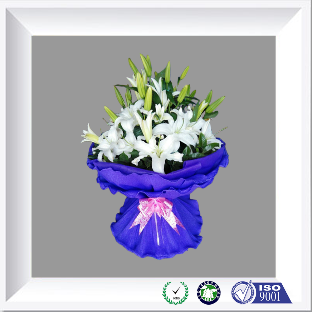 Hot sale custom plastic bouquet wrapping/Packaging Flower Wrapper Film