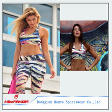 OEM Factory Customized Womens Yoga Weat Sets, Fitness Gym Wear Clothing Set Suits