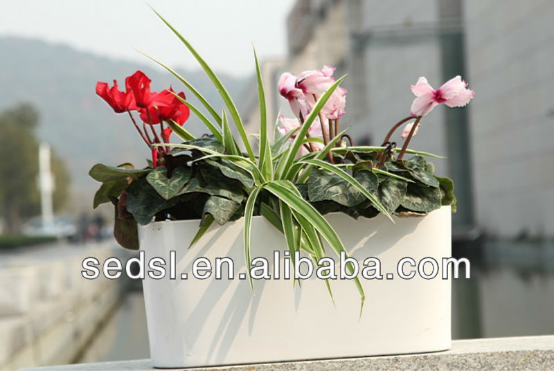 indoor decorate plastic orchid pots