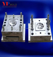 Custom made injection plastic mould for fan blade/ABS injected parts mold