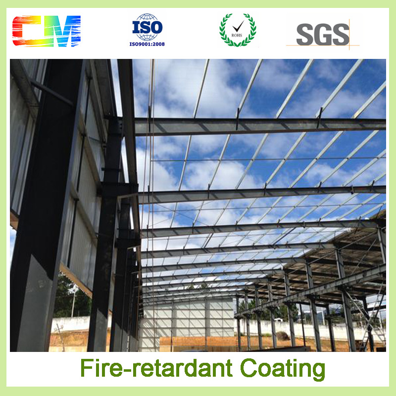 Good quality aging resistance fire retardant intumescent spray paint for steel