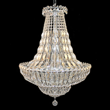 Gold chic empire crystal chandeliers pendant lights