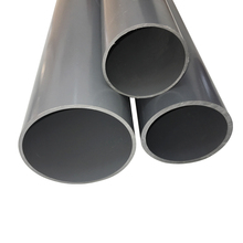 Newest promotional 80mm full form types of plastic pvc water pipe