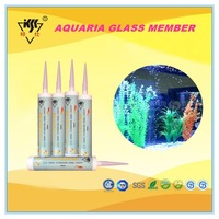 Acetic mould-proof , Professional Aquarium Fish Tank silicone sealant