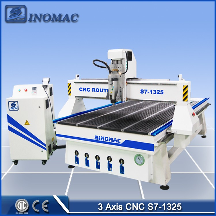 Factory supply! Wood cnc router 1325 cnc router wood cnc router prices for sale
