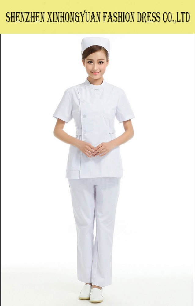 Ladys White Doctor Uniform,Medical Coat for Women,Hot Sale Hospital Uniform Design