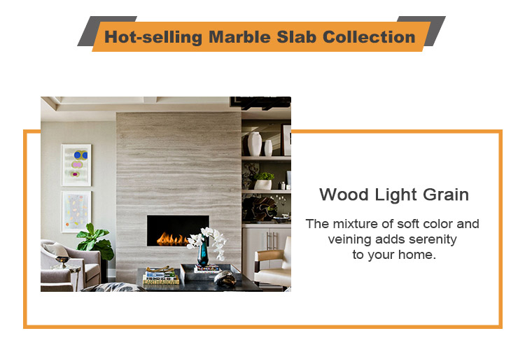 Stock Wood Veins Blue Marble Slab Price For Bathroom