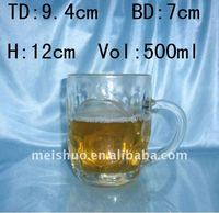 new fashion decal beer glass