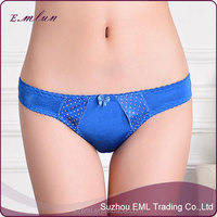 Wholesale top sells lady hot sexy nylon bikini panty