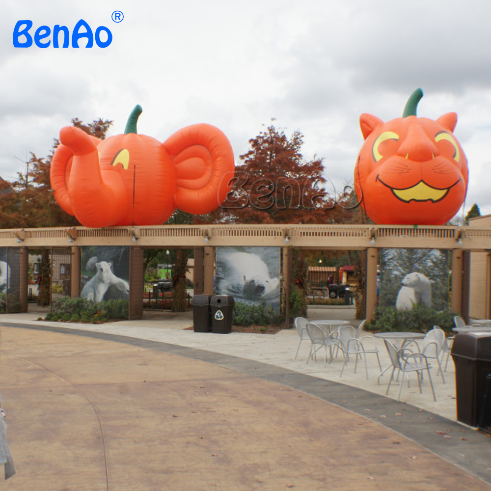 Z389 Inflatable balloon replica,inflatable pumpkin model custom various inflatable product,Inflatable pumpkin animated halloween