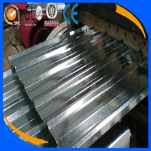 Tangshan manufacturer roofing materials Galvanized sheet metal roofing price Corrugated galvanized zinc roof sheets
